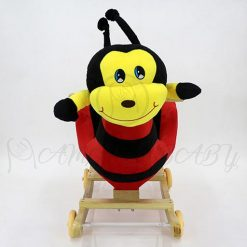ROCKING BEE WITH WHEEL DRY-8103