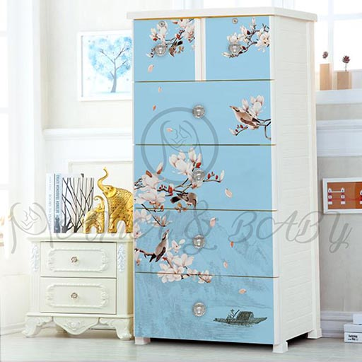 4+2 JUMBO DRAWER MAGNOLIA LIGHT BLUE NA-665869