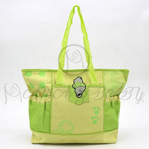 STANDARD BAG SINGLE DOT GREEN SM1075