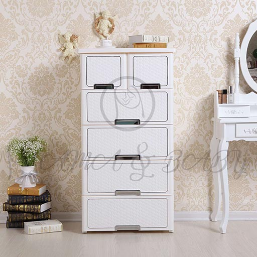 4+2 DRAWER CHINE SE PEARL WHITE NA-585816-in-Pakistan