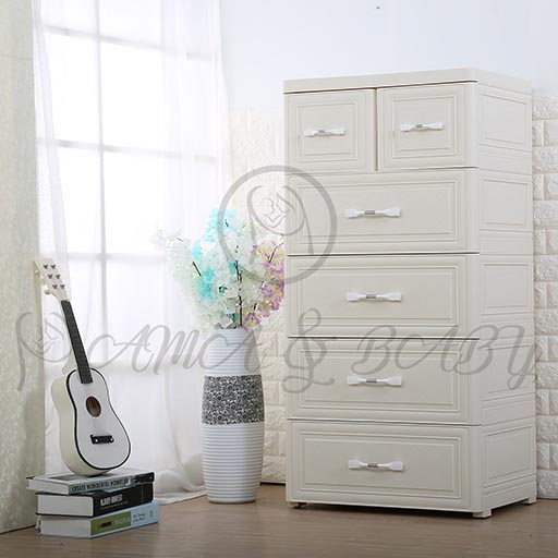 4+2 DRAWER SIMPLE IVORY YELLOW NA-B5852589-in-Pakistan