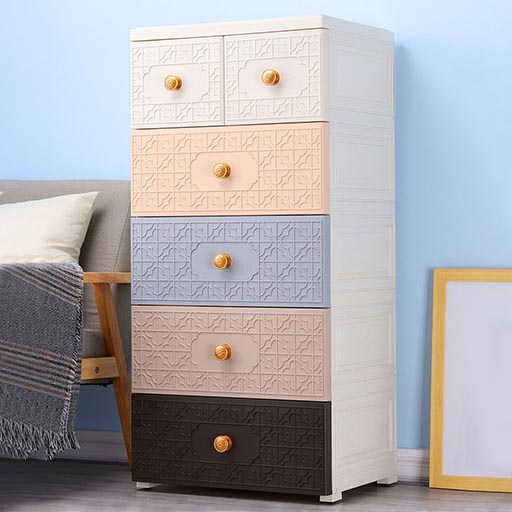 4+2 DRAWERS NEW CHINESE STYLE – NORDIC STYLE 505302-in-Pakistan