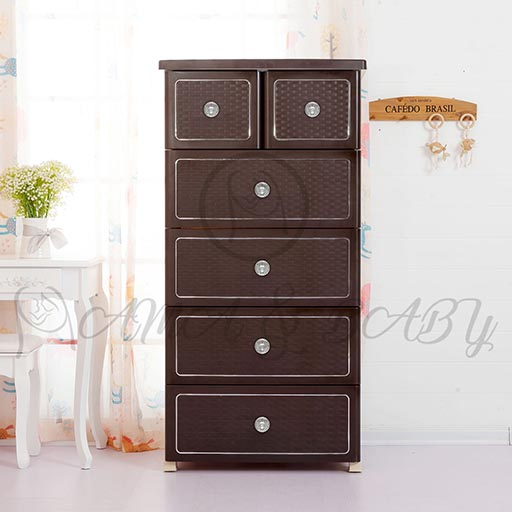4+2 JUMBO DRAWER CHINESE COFFEE BROWN NA-665812-in-Pakistan
