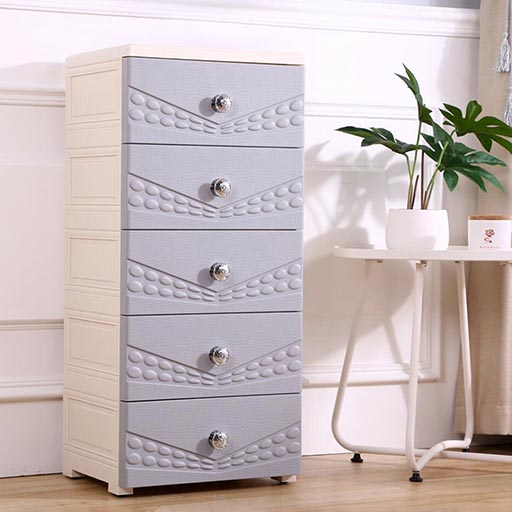 5 LAYERS DRAWERS SHANGYA CONTINENTAL – NORDIC GREY 395515