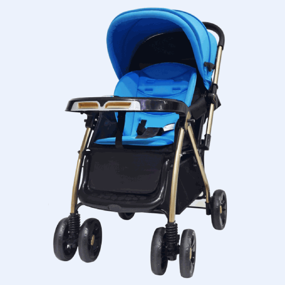 BLUE EXCLUSIVE STROLLER C1-262