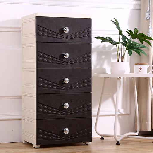 5 LAYERS DRAWERS SHANGYA CONTINENTAL COFFEE BROWN 395562-in-Pakistan