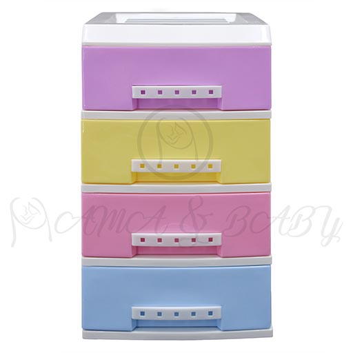 4LAYER MINI DRAWERS WITH HANDLE MULTI COLOUR HD172338