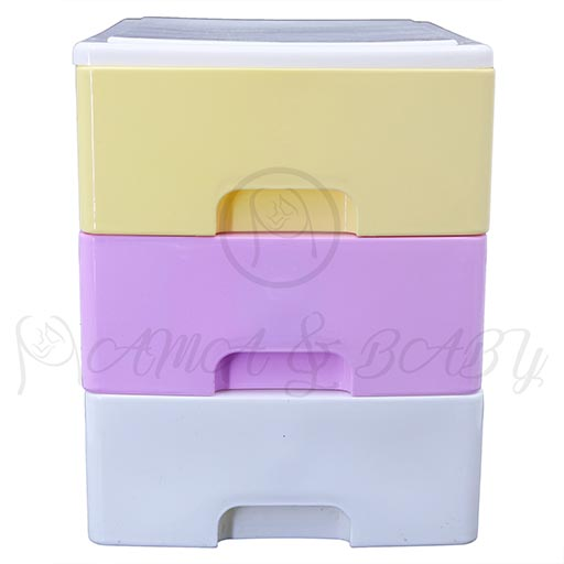 3LAYER MINI DRAWERS WITH HANDLE MULTI COLOUR HD17206
