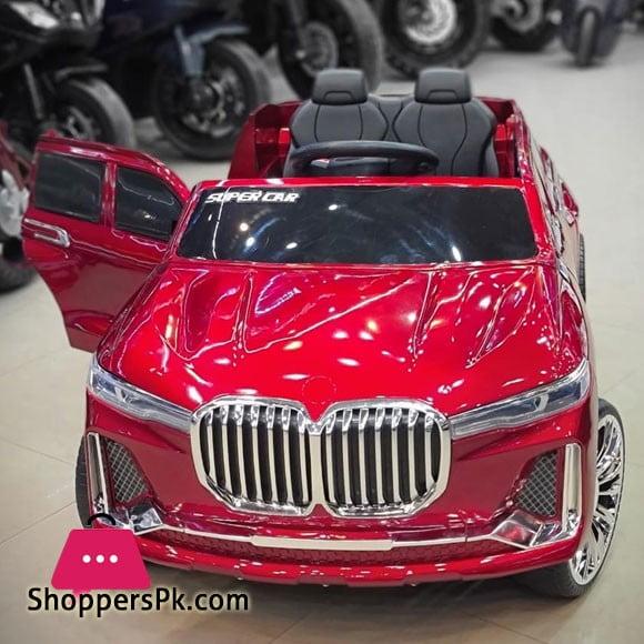 BMW X7 Kids Ride on Car Big SUV Electric Ride on Car with Swing & Remote Control YS-3588
