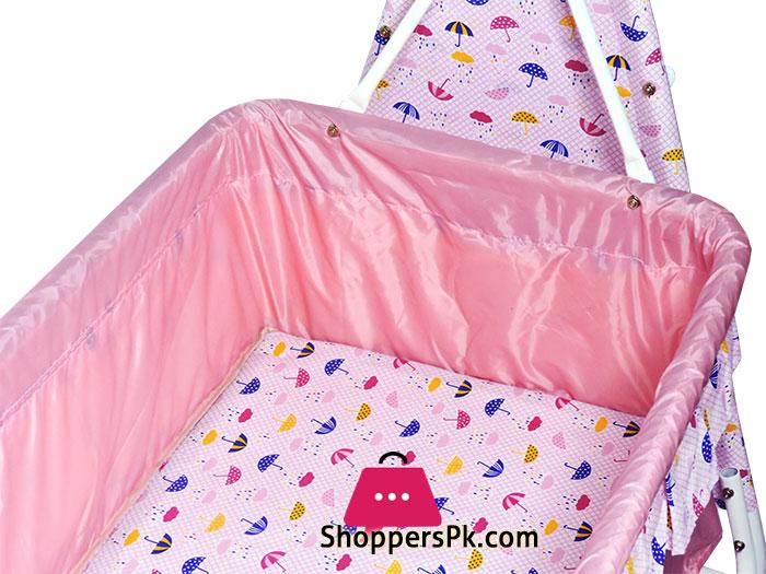 Bambino-Moon-N-Bear-Baby-Cradle---High-Quality-Fancy-Gift-Baby-Sleeping-Cot---877-13