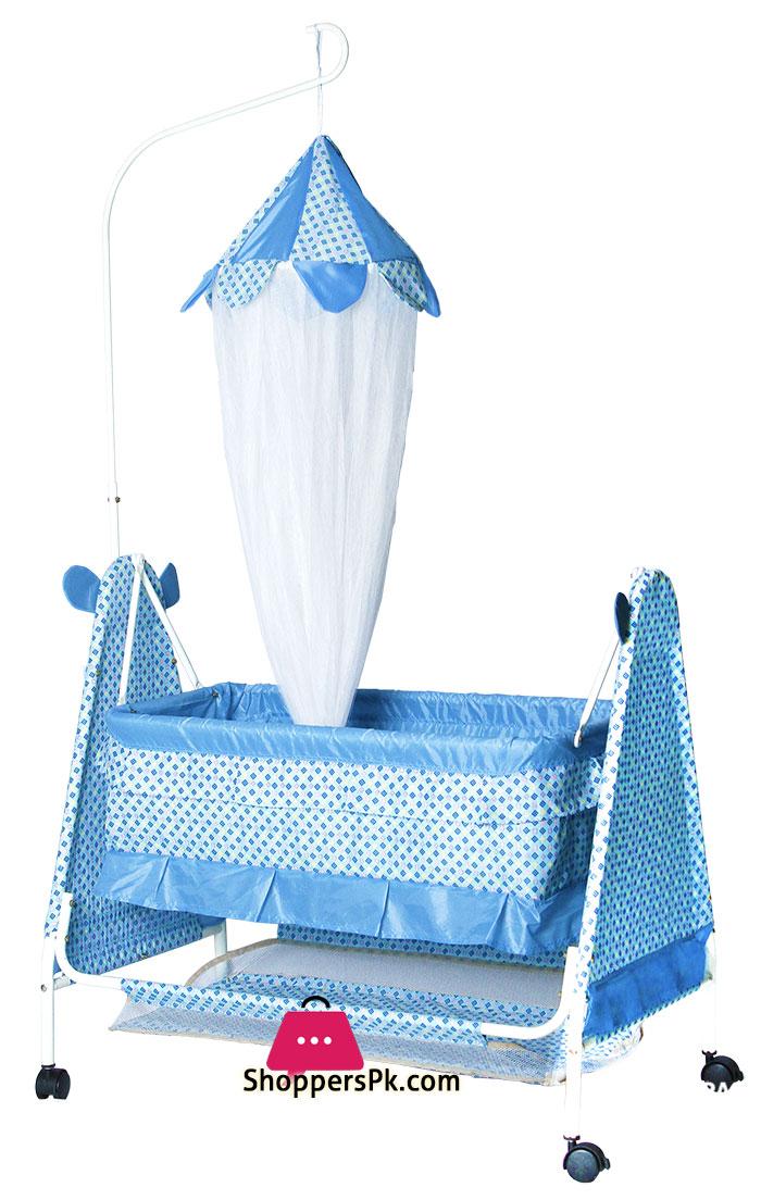 Bambino-Moon-N-Bear-Baby-Cradle---High-Quality-Fancy-Gift-Baby-Sleeping-Cot---877-Main