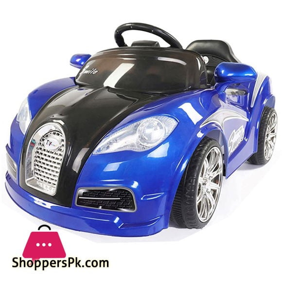 Bugatti Kids Ride On Car with Swing & Mettalic Paint