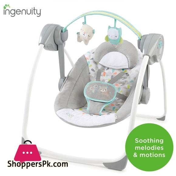 Comfort 2 Go Portable Swing - Fanciful Forest