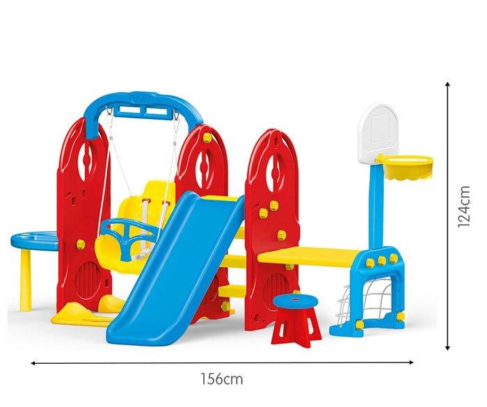 Dolu 7-in-1 Slide Swing Table Playground Frame origin Turkey