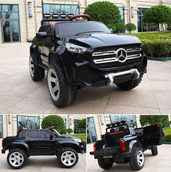 Mercedes Truck Off Road 4 X 4 Metallic Paint Color Kids Electric Ride On Car