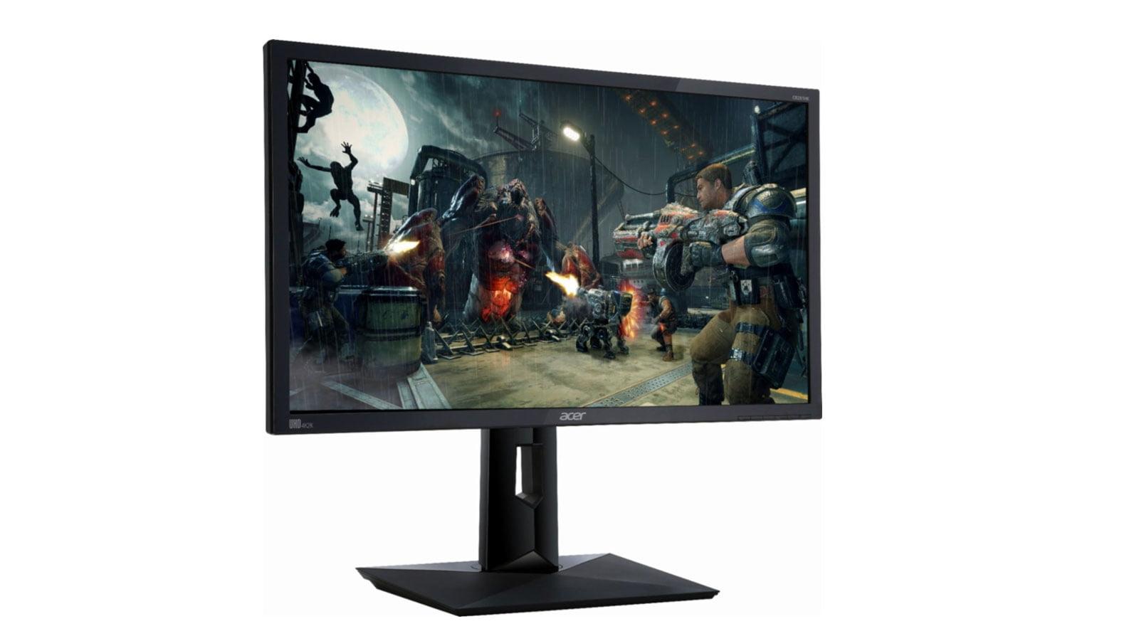 Acer – CB281HK 28″ LED 4K UHD FreeSync Monitor – Open Box