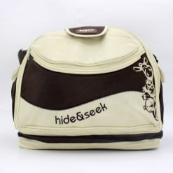 BABY BAG ANGELA HIDE & SEEK RED & BROWN 8836-in-Pakistan