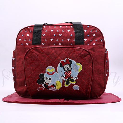 BABY BAG MICKEY MOUSE 9009 M&B-in-Pakistan