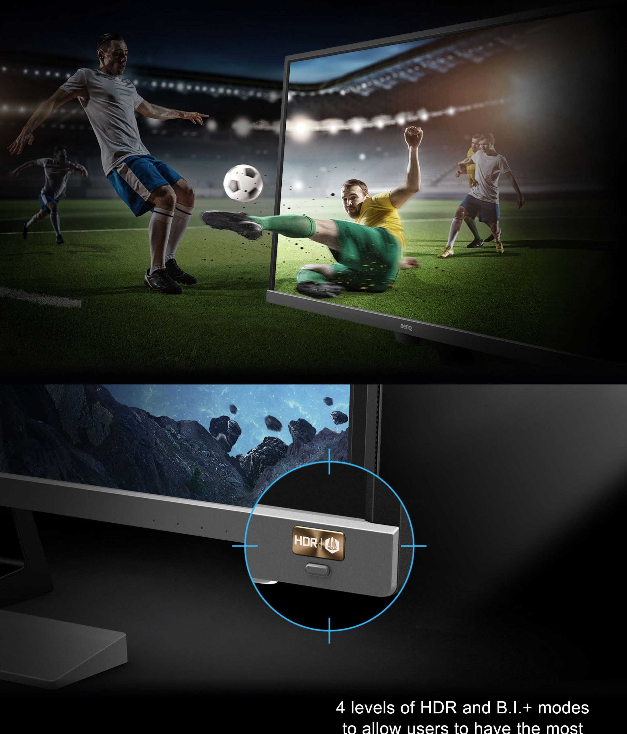 BenQ EW3270U 31.5″ Video Enjoyment LED Monitor with Eye-care Technology 4K HDR USB-C, 60Hz – New