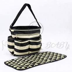 EXCLUSIVE DIAPER BAG SINGLE SKIN/BLACK LINING-in-Pakistan