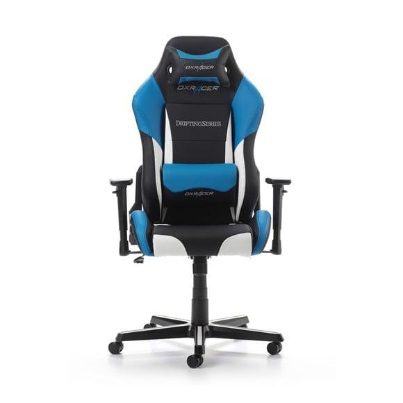 DX Racer Drifting Series Gaming Chair Color Black / White / Blue GC-D61-NWB-M4