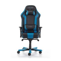 DX Racer King Series Gaming Chair. Color Black / Blue GC-K06-NB-S1