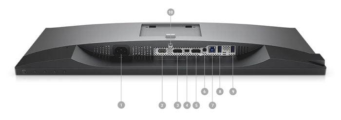 Dell UltraSharp 25 Monitor: U2518D – Open Box