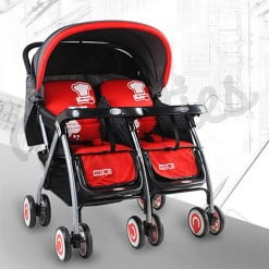DOUBLE STROLLER Red 703A-308-in-Pakistan