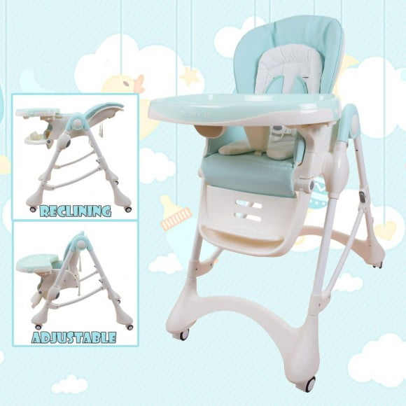 E-102S BLUE HIGH CHAIR-in-Pakistan