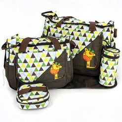 EXCLUSIVE DIAPER BAG 4PCS 9027 M&B-in-Pakistan