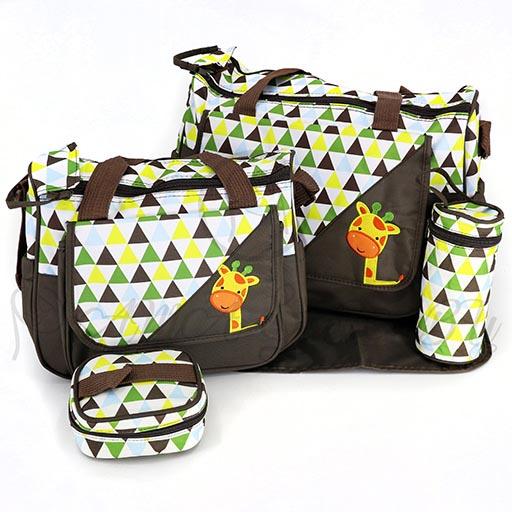EXCLUSIVE DIAPER BAG 4PCS 9027 M&B-in-Pakistan