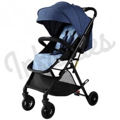 EXCLUSIVE STROLLER DENIM BLUE N1-282 NOTE-in-Pakistan