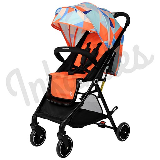 EXCLUSIVE STROLLER ORANGE N1-176 NOTE-in-Pakistan