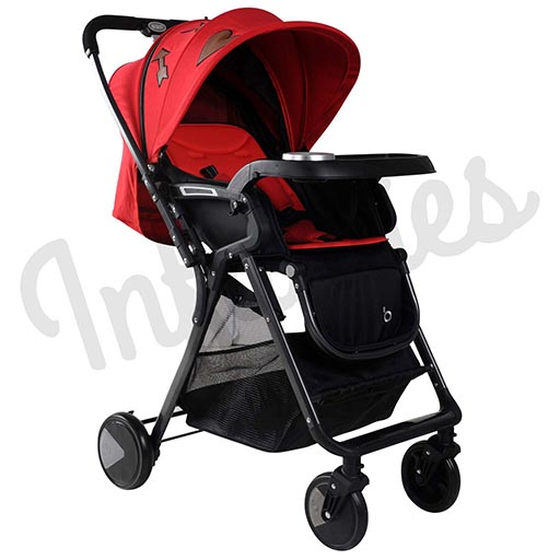 EXCLUSIVE STROLLER Red QK1-168 KING-in-Pakistan