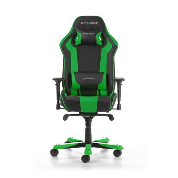 DX Racer King Series Gaming Chair. Color Black / Green GC-K06-NE-S1