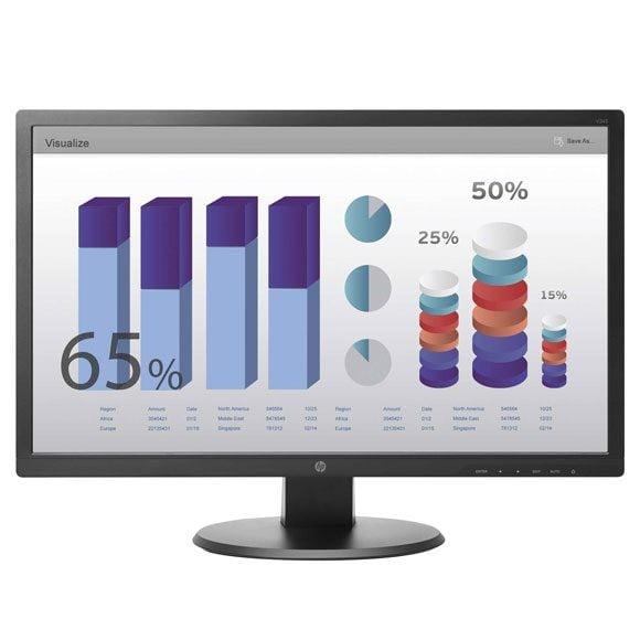 HP V243 24 inch full hd monitor – Open Box