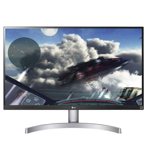 LG 27UK600-W 27 Inch 4K UHD IPS LED Monitor with HDR 10 – Open Box