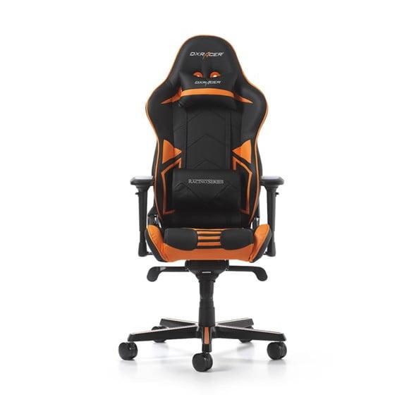 DX Racer Racing Series Gaming Chair. Color Black / Orange GC-R131-NO-V2