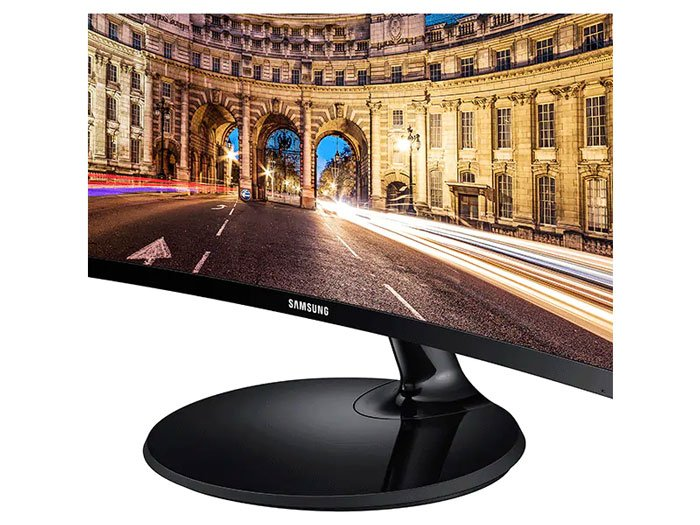 Samsung 24″ CF390 Curved LED Monitor – Open Box