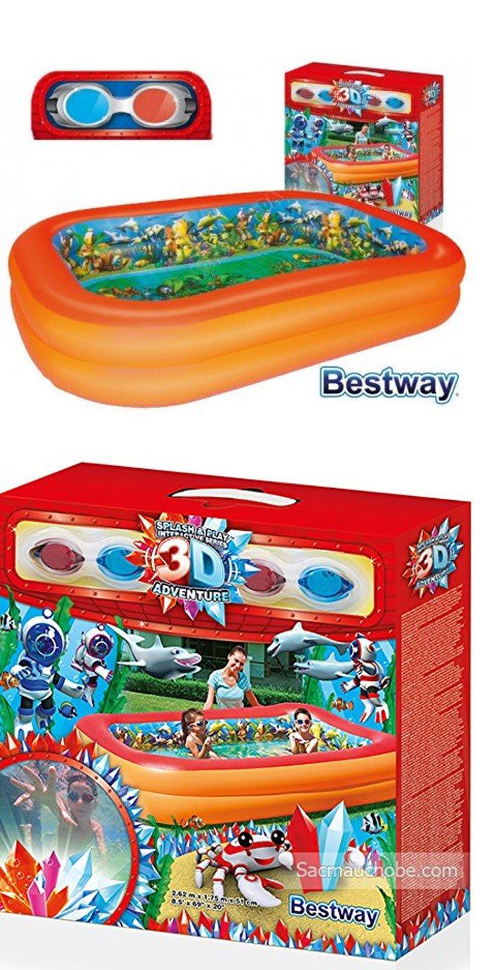 Bestway 3D Diving Pool 8.5ft x 1.5ft #54114