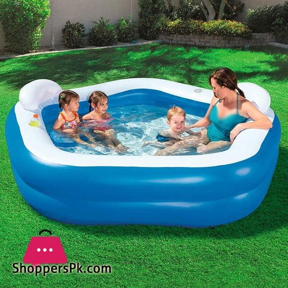 Bestway Family Fun Lounge Pool #54153 (Dimensions 213 x 69 x 207 cm)