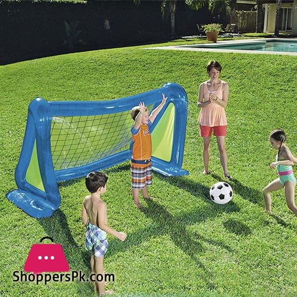 Bestway Inflatable Football Door with 1 Ball and Side Sprayers #52215