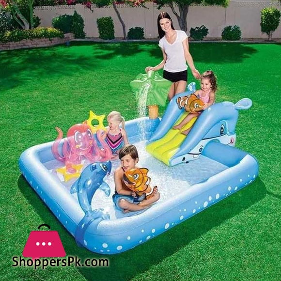 Bestway Kids Fantastic Aquarium Play Pool #53052