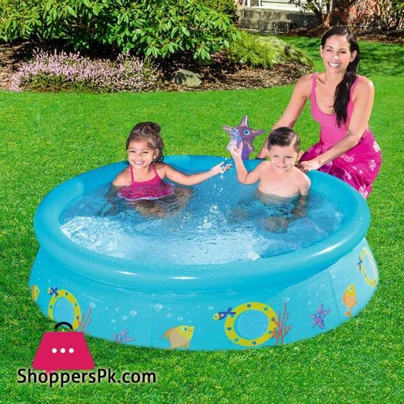Bestway My First Fast Set Spray Pool 5 Feet X 15 Inch #57326