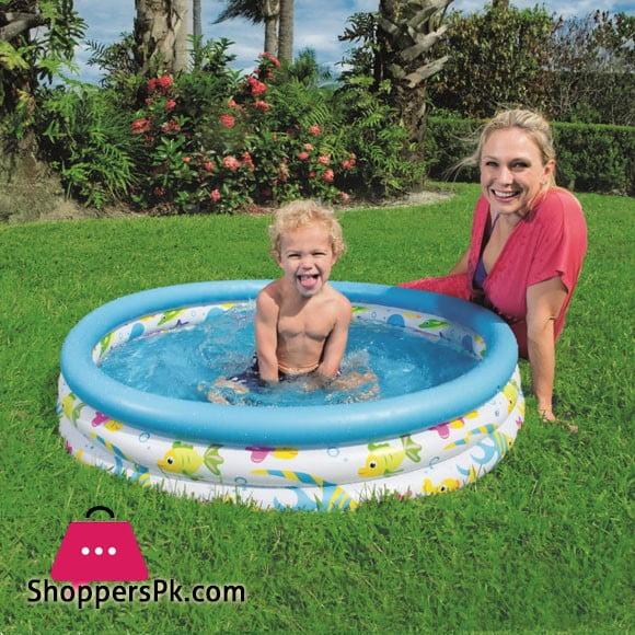 Bestway Ocean Life Pool 102 X 25CM -#51008