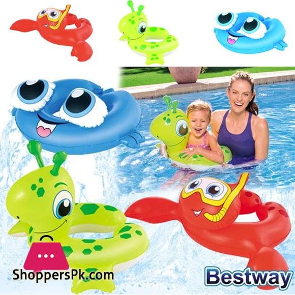 Bestway Sea Creature Inflatable Baby Water Float Pool Ring #36112