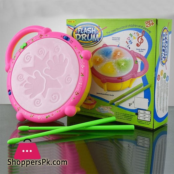 Flash Drum Toy For Kids