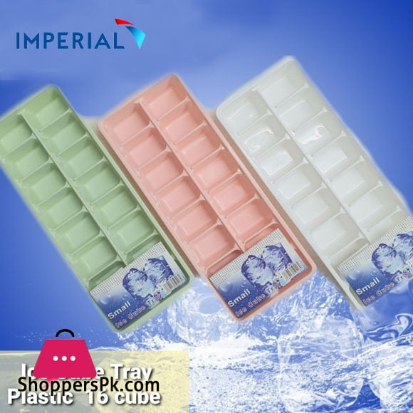 Imperial Ice Cube Tray Plastic 16 Cubes