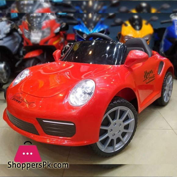 Kids Ride on Car Porsche Style 12v Childrens Electric Toy Car 1-6 Years Kids