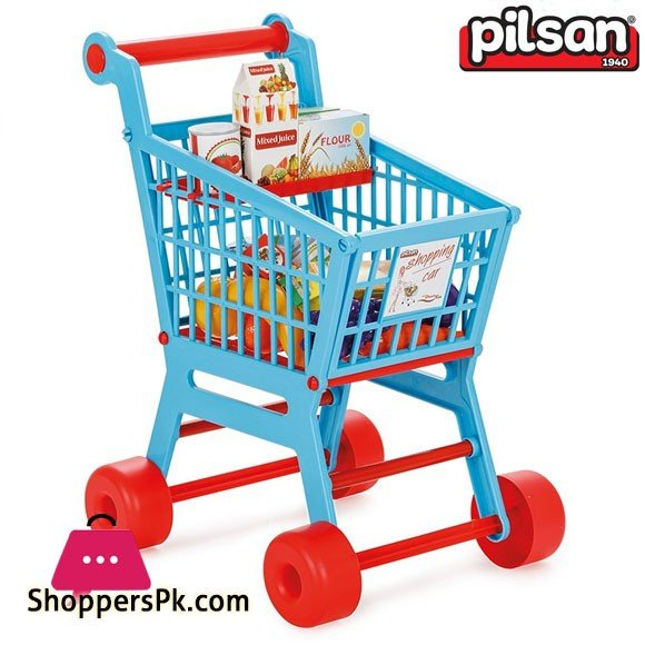 Pilsan Kids Practical Shopping Cart Turkey Made 07-608